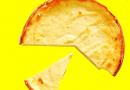 Tarta de limón y naranja