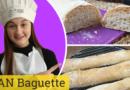 PAN CASER0 Baguette o pan francés RECETA barras de pan muy fáciles
