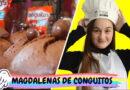 Magdalenas de chocolate hechas con Conguitos